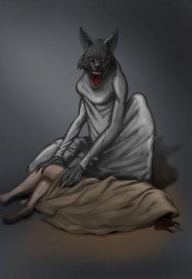 Агуара. Рисунок Кжиштофа Мошчыньского