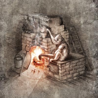 Огневик. Рисунок Евгения Кота