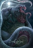"Бруколак. Иллюстрация Александры Шуфнара к ККИ ""Gwent: The Witcher Card Game"""