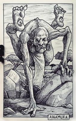 Айгамучаб. Иллюстрация Дарека Кшака (DK13Design)
