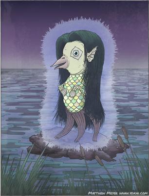 Амабиэ. Иллюстрация Мэтью Мэйера