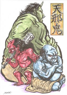 Аманодзяку. Рисунок Сёта Котакэ