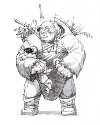Амауталик (Амайурйук). Иллюстрация Евы Вайдерманн
