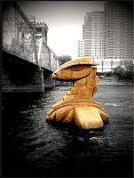 Скульптура Несси. Американский вариант