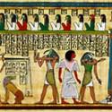Суд Осириса. Фрагмент папируса