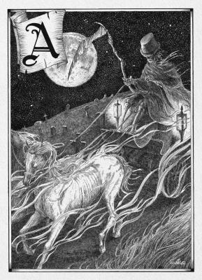 Анку. Иллюстрация Юлии Широниной (CoalRye)