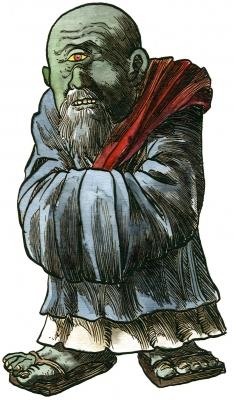 Ао-бодзу. Иллюстрация Ричарда Свенссона