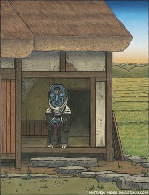 Ао-бодзу. Иллюстрация Мэтью Мэйера