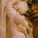 Апсара. Барельеф одного из храмов Кхаджурахо