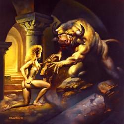 """""""Ariadna"""". Картина Бориса Валледжо"""