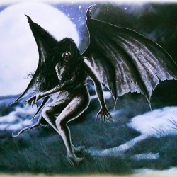 "Асванг. Иллюстрация из книги Б.Роузен ""Мифические существа"""