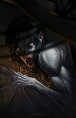 Асванг. Иллюстрация Брайена Валезы