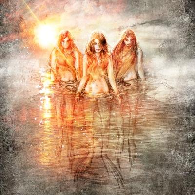 Озерницы. Рисунок Евгения Кота