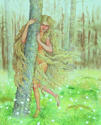 Зазоўка. Иллюстрация Валерия Славука