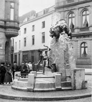 Бакхауф. Старый фонтан в городе Ахен, установленный в 1904 году
