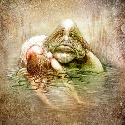 Баламутень. Рисунок Евгения Кота