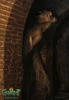 """Носферат. Иллюстрация Бартоломея Гавела к ККИ """"Gwent: The Witcher Card Game"""""""