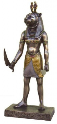 Маахес. Современная статуэтка