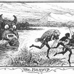 "Буньип. Иллюстрация Г.Дж.Форда из ""The Brown Fairy Book"" (1904)"