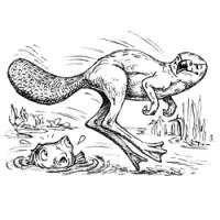 Бильдад. Иллюстрация Брюса Ван Паттера