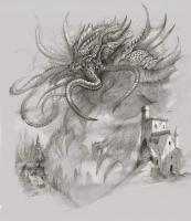 Ктулху. Рисунок Бобби Ребхольца