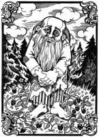 Боли-бошка. Иллюстрация Надежды Антиповой