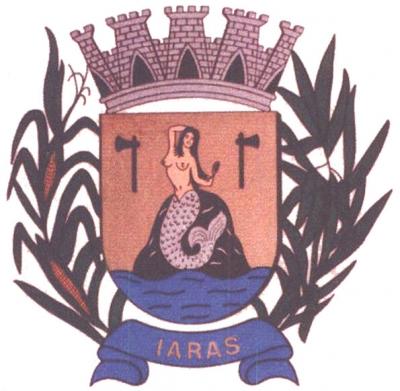 Иара на гербе муниципалитета Иарас (Сан-Паулу, Бразилия)