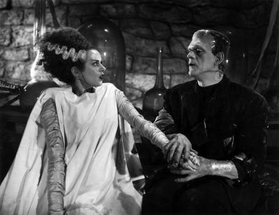"""Чудовища Франкенштейна. Кадр из фильма """"Невеста Франкенштейна"""" (1935)"""