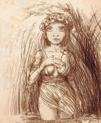 Brzegina (Берегиня). Иллюстрация Павла Зыха (Paweł Zych)