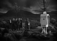 "Кадр из фильма ""Дьявольская девушка с Марса"" (Devil Girl from Mars, 1954)"