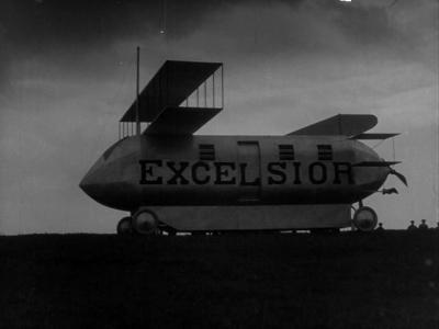 """Кадр из фильма """"Небесный корабль"""" (Himmelskibet, 1918)"""