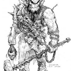 Багбир из первого MonsterManual'а для игр AD&D