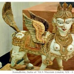 Бурак. Индийская скульптурная версия