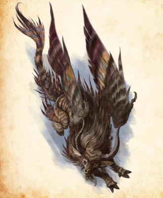 Бурак. Иллюстрация Уильяма О'Коннора