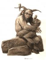 Бусгосу. Иллюстрация Макса Иерро
