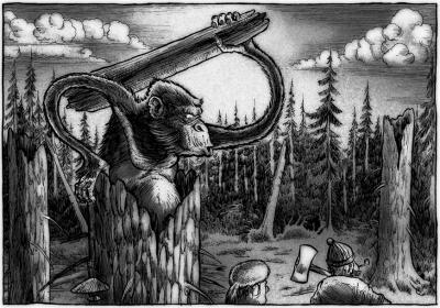 Агропельтер. Иллюстрация Ричарда Свенссона