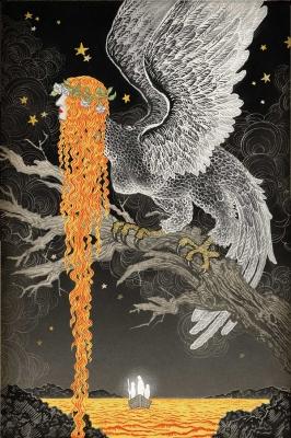 Гарпия. Иллюстрация Юко Симидзу