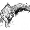 Катоблепас из первого MonsterManual'а для игр AD&D