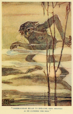 """Чирунир. Иллюстрация Элис Вудвард к книге Уильяма Рамсея Смита """"Мифы и легенды австралийских аборигенов"""" (1932)"""
