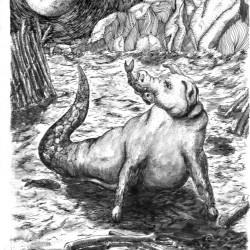 Кучивило. Рисунок Марчело Лира Сеговиа