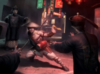 Цзянши и китайский охотник на вампиров. Иллюстрация Даррена Тана