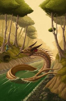 """Чинифилу. Иллюстрация Карлоса Эулефи (Kaek) для книги """"Guía Mitológica Ilustrada de Chile"""" (2007)"""