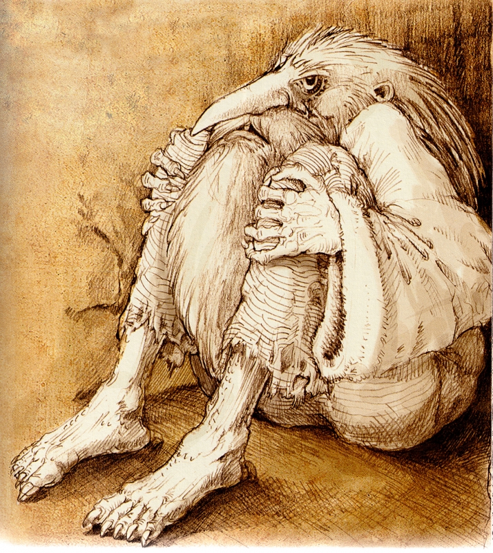 Chowaniec (Хованец). Иллюстрация Витольда Варгаса (Witold Vargas)