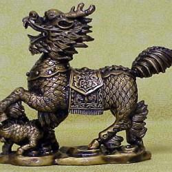 Цилинь. Китайская статуэтка