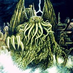 Ктулху в изображении Рэймонда Бейлесса