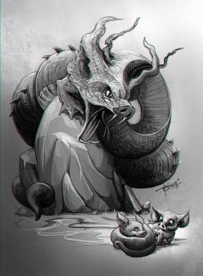 Кучивило. Иллюстрация Просенджита Мондала
