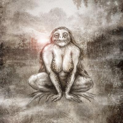 Цыцоха. Рисунок Евгения Кота