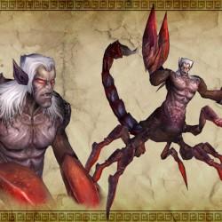Драйдер-скорпион из мира Эберрон