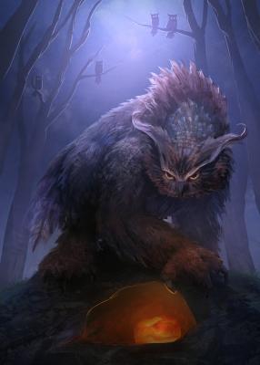 Совомедведь (Эль Бу). Иллюстрация Мэтта Форсайза