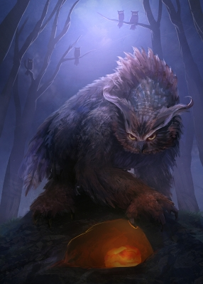 Совомедведь (Ель Бу). Иллюстрация Мэтта Форсайза